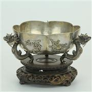 Sale 8413 - Lot 29 - Chinese Sterling Silver Bowl by Wang Hing