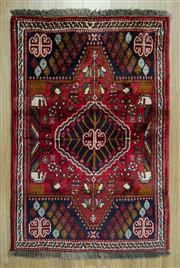 Sale 8585C - Lot 33 - Persian Shiraz 150cm x 98cm