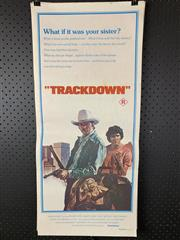 Sale 9003P - Lot 75 - Vintage Movie Poster - Trackdown