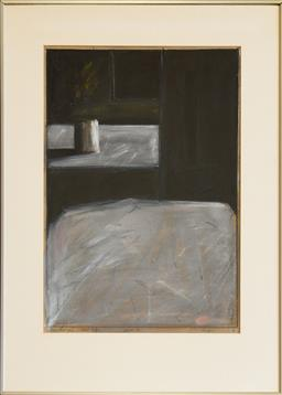 Sale 9153A - Lot 5015 - KEVIN LINCOLN (1941 - ) - Nocturnal Still life, 1977 55 x 37 cm