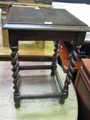 Sale 7937A - Lot 1107 - Telephone Table with Barley Twist Supports
