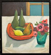 Sale 8301 - Lot 588 - Lewis Morley (1925 - 2013) - Still Life with Pears, Paris c1956 61 x 56cm