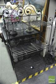 Sale 8368 - Lot 1072 - Three Tier Metal Plant Stand