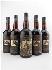 Sale 8514W - Lot 67 - 5x Yalumba Thoroughbred Series Vintage Port, Barossa Valley - 1976 to 1980