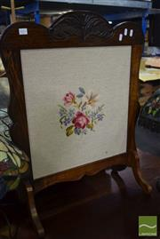 Sale 8545 - Lot 1078 - Tapestry Front Fire Screen