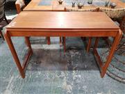 Sale 8908 - Lot 1071 - Teak Fold Over Convertible Desk