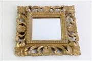 Sale 8923B - Lot 29 - A gilt framed mirror in the Italian taste, 18 x 18cm