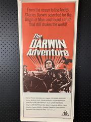 Sale 9003P - Lot 76 - Vintage Movie Poster - The Darwin Adventure