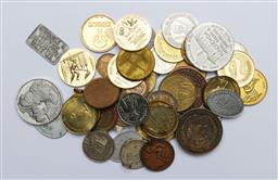 Sale 9164 - Lot 399 - Collection of coins and tokens