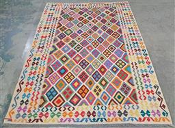 Sale 9218 - Lot 1076 - Persian hand knotted bohemian pure wool Kilim (300 x 200cm)