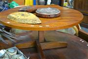 Sale 8087 - Lot 1031 - Round Timber Occasional Table
