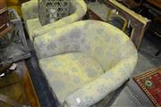 Sale 8093 - Lot 1382 - Pair of Tub Chairs