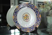 Sale 8324 - Lot 49 - Family Symbol Famille Rose Plate