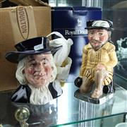 Sale 8336 - Lot 78 - Royal Doulton Toby Jugs Sir Frances Drake & Mr Quaker