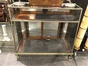 Sale 8795 - Lot 1008 - Vintage Display Cabinet on Claw Feet