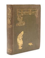 Sale 8864 - Lot 56 - RACKHAM, Arthur (1863 - 1939) Illustrator, Ingoldsby, Thomas - The Ingoldsby Legends or Mirth and Marvels