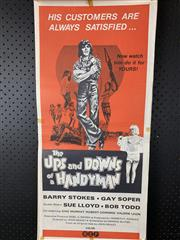 Sale 9003P - Lot 77 - Vintage Movie Poster - The Ups and Downs of a Handyman
