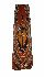 Sale 3850 - Lot 11 - ABELAM HOUSE PANEL PALM SPATHE NEW GUINEA