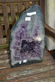 Sale 8115 - Lot 1067 - Dark Amethyst Cave