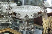 Sale 8360 - Lot 39 - Ornate Silverplated Centrepiece