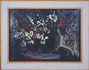 Sale 8374 - Lot 576 - Desiderius Orban (1884 - 1986) - Still Life 55 x 75cm