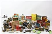 Sale 8529 - Lot 214 - Vintage Packaging, Shaving and Writing Paraphernalia, and other wares.