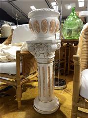 Sale 8901F - Lot 1047 - Ceramic Jardiniere and Stand