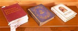 Sale 9191W - Lot 735 - The Webster universal dictionary together with The Holy Bible and Hogarths works