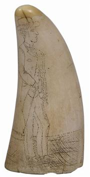 Sale 7988 - Lot 19 - Scrimshaw Whales Tooth