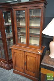 Sale 8277 - Lot 1007 - Timber Bookcase