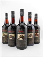 Sale 8514W - Lot 68 - 5x Yalumba Thoroughbred Series Vintage Port, Barossa Valley - 1976 to 1980