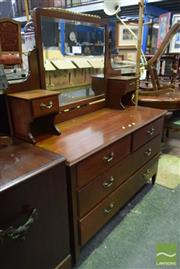 Sale 8545 - Lot 1084 - Mirrored Back Dressing Table
