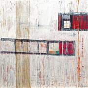 Sale 8870 - Lot 2030 - Annette Owen-Mulder - Untitled (Abstract) 91 x 90.5cm