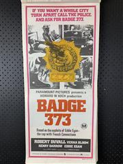 Sale 9003P - Lot 79 - Vintage Movie Poster - Badge 373 starring Robert Duvall