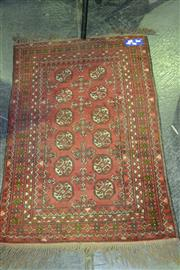 Sale 7987A - Lot 1052 - Small red Woollen Rug 1200 x 750