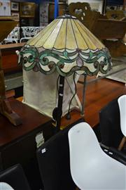 Sale 8093 - Lot 1064 - Leadlight Standard Lamp