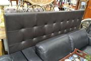 Sale 8500 - Lot 1264 - King Size Leather Bed Head