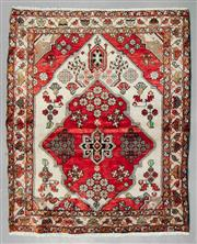 Sale 8539C - Lot 21 - Vintage Persian Shiraz 170cm x 140cm