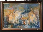Sale 8776 - Lot 2001 - Artist Unknown, Old Glebe Houses, 1971, oil on board, 64 x 89cm (frame size), detailed verso
