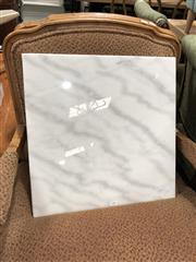 Sale 8854 - Lot 1081 - Square Marble Pastry Board (50cm)