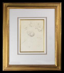Sale 7923 - Lot 568 - William Dobell - Dog Study c. 1940