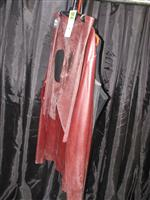 Sale 7926A - Lot 1803 - Assorted Latex Tops with rubber baron red suit with geometric cut outs