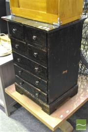 Sale 8368 - Lot 1029 - Timber Bedside with Seven Drawers