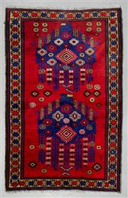 Sale 8539C - Lot 22 - Persian Baluchi 140cm x 90cm