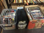 Sale 8659 - Lot 2285 - 2 Boxes & Case of Mixed DVDs