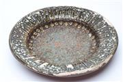 Sale 8725 - Lot 30 - 1963 Terracotta And Green Glazed Possibly Italian Or German Charger (Some Losses)