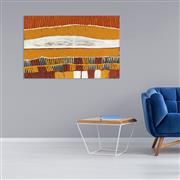 Sale 8786 - Lot 582 - Freda Warlpinni (1934 - 2003) - Jilamarra 97 x 64cm (stretched and ready to hang)