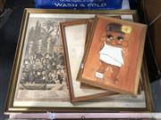 Sale 8797 - Lot 2146 - Engraving Our National Music; Plus 3 Childrens Pictures