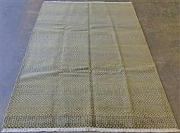 Sale 9134 - Lot 1503 - Silk and wool contemporary Indian rug (264 x 185cm)