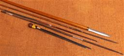 Sale 9191W - Lot 736 - A small collection of tribal spears/darts (Longest 180cm)